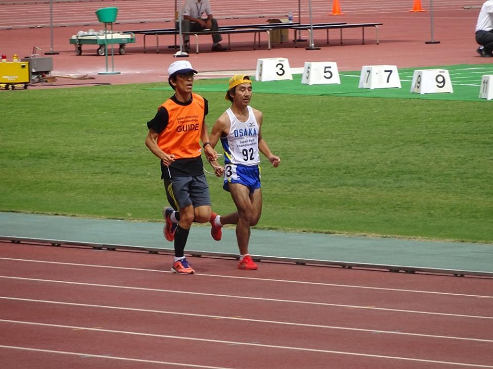 Japan Para Championshipsでの写真